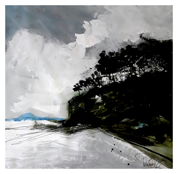 Pearsall, Ian R. (1967 – ) Amroth Beach (Pembrokeshire) - Trent Art
