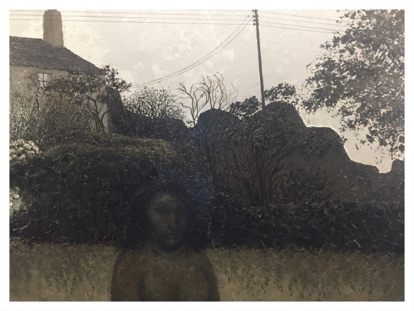 Cottage and Garden with Figure, Jack Simcock