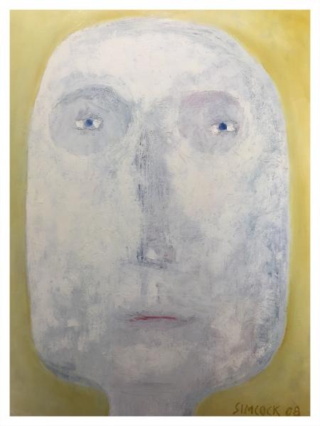 Alien Head (Canvas), Jack Simcock