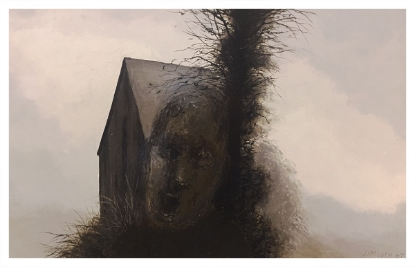 Head, Shed and Tree, Jack Simcock