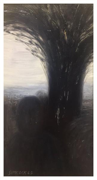 Figure and Tree, Jack Simcock