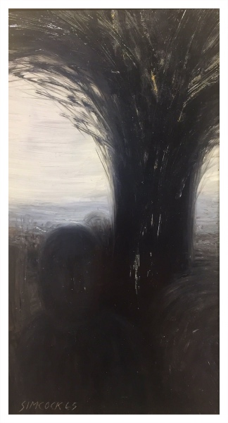 Figure and Tree, Jack Simcock