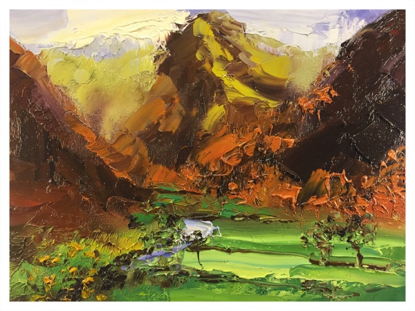 Halliday, Colin (1964 – ) Borrowdale I - Trent Art