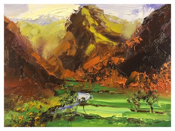 Halliday, Colin (1964 – ) Borrowdale I - Trent Art