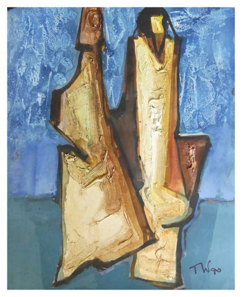 Was, Tadeusz (1912 – 2005) Two Figures - Trent Art