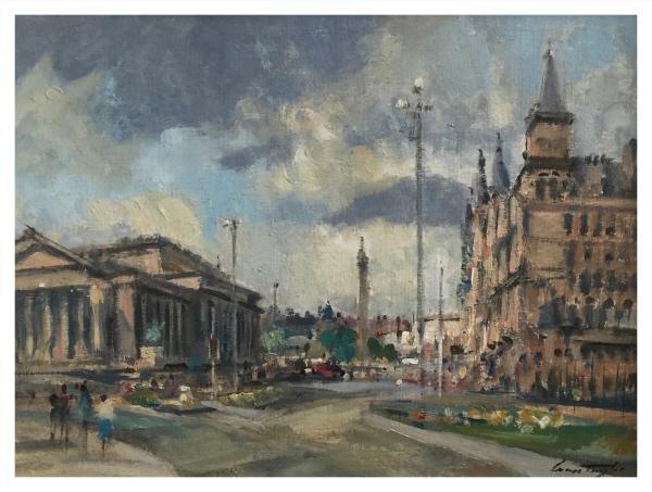 Taylor, Ivan (1946 – ) St George's Hall, Liverpool - Trent Art