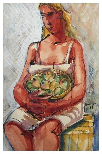 Borsky, Jiri (1945-) Fruit Picker 1983 - Trent Art