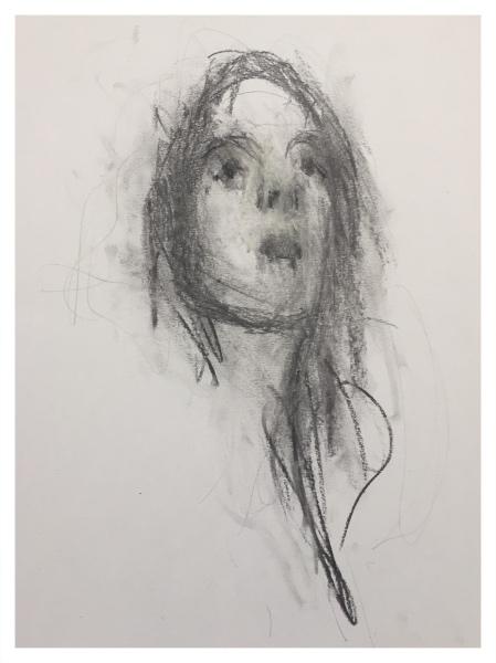 Mood, Ian (1973 – ) Head of a Woman - Trent Art