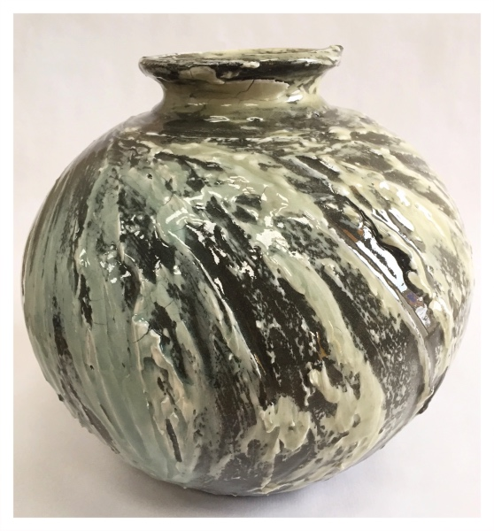 Shimwell, Alex ( ) Large Rounded Vase - Trent Art