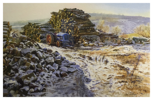 Faulkner, Neil (1952-) The Dexta, Staffordshire Moorlands - Trent Art