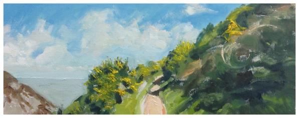 Hunt, David ( ) In the Heddon Valley - Trent Art