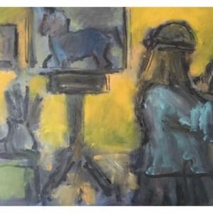 Howard, Ghislaine (1953 – ) The Artist in Her Studio