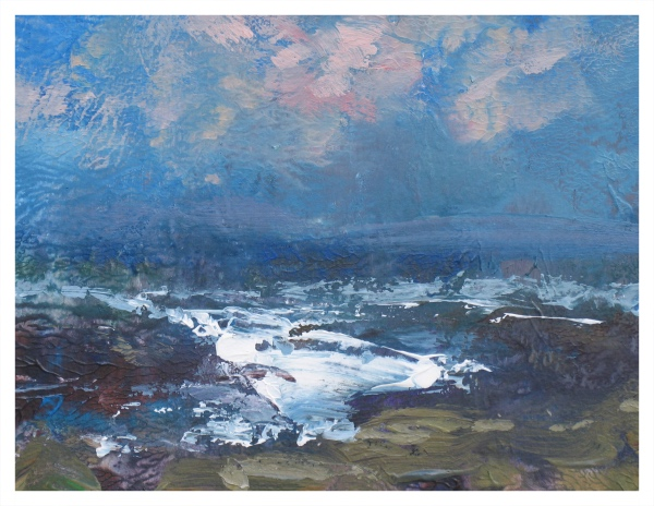Halliday, Colin (1964 – ) Seascape - Trent Art