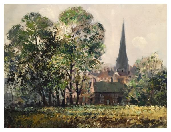 Taylor, Ivan (1946 – ) Bakewell, Derbyshire - Trent Art