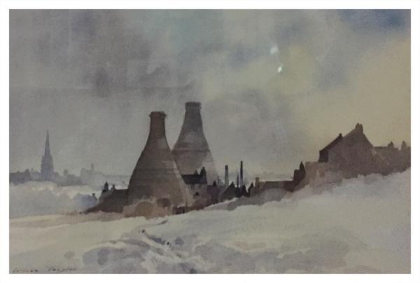 Taylor, Ivan (1946 – ) Kilns, Winter Snow - Trent Art