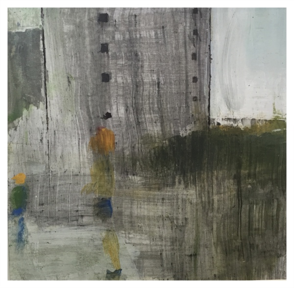 Rigby, Tonie (1955 – ) The Flats Came..... - Trent Art