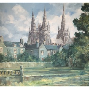 Taylor, Ivan (1946 – ) Lichfield Cathedral