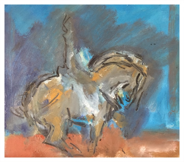 Tang Horse with Rider 2016, Ghislaine Howard