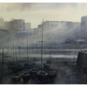 Taylor, Ivan (1946 – ) Tenby Harbour