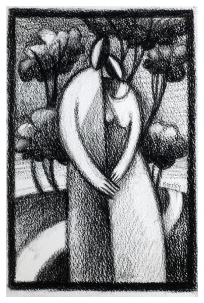 Jiri Borsky - Lovers and Trees (Trent Art)