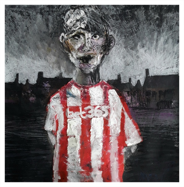 Pearsall, Ian R. (1967 – ) New Kid on the Estate (Norton) - Trent Art
