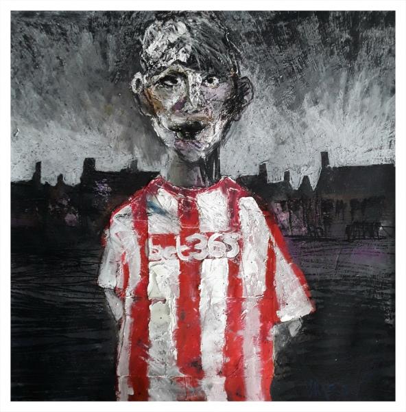 Pearsall, Ian R. (1967 – ) New Kid on the Estate (Norton) - Trent Art