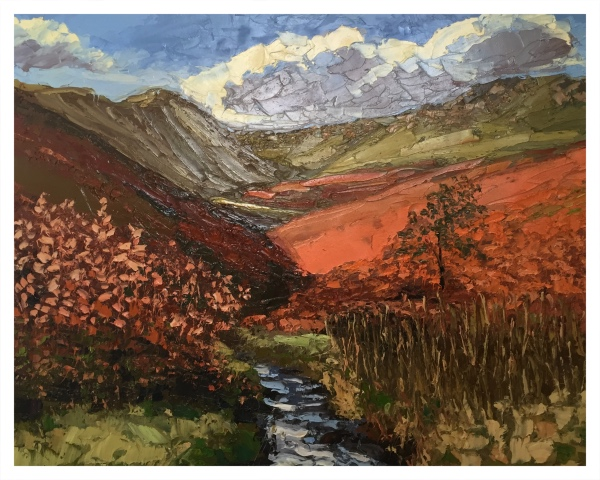 Halliday, Colin (1964 – ) Fairbrook Clough, Kinder Scout - Trent Art