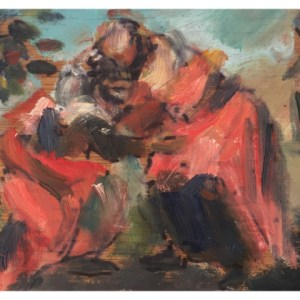 Howard, Ghislaine (1953 – ) After Tintoretto's Visitation