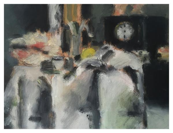 Howard, Ghislaine (1953 – ) After Cezanne The Black Clock - Trent Art