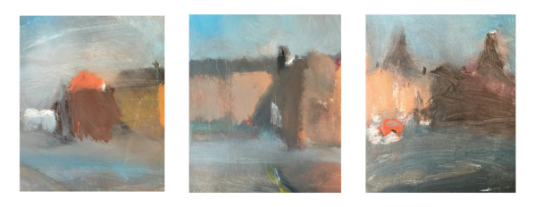 Mood, Ian (1973 – ) Gladstone Pottery Triptych - Trent Art
