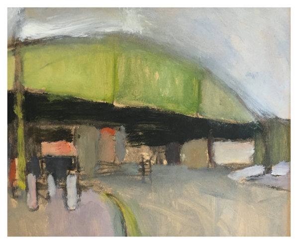 Mood, Ian (1973 – ) Longton Railway Bridge - Trent Art