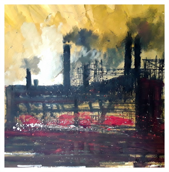 Pearsall, Ian R. (1967 – ) Steel (Shelton Bar) - Trent Art