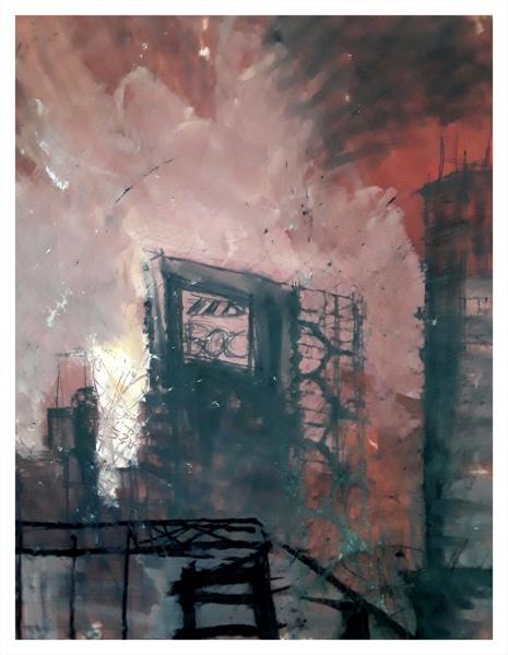 Pearsall, Ian R. (1967 – ) Steel II - Trent Art