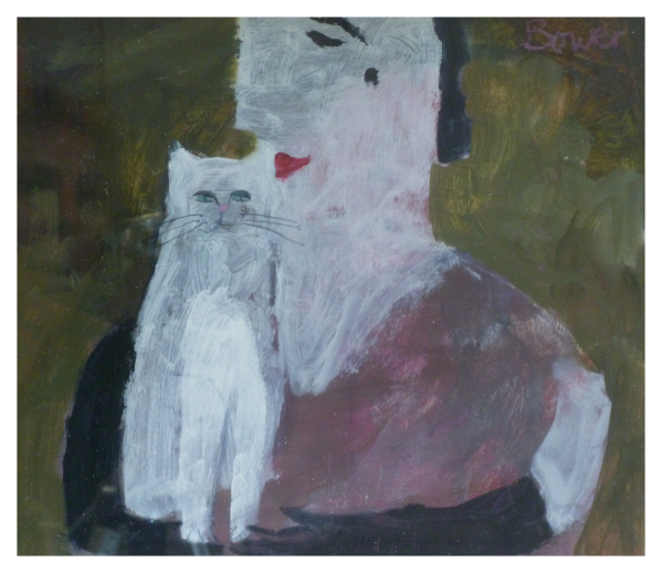 Bower, Susan RBA ROI (1953 - ) Enids cat - Trent Art