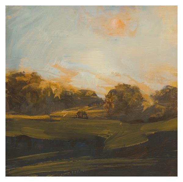 Boisseau, Annie RBA (1957 - ) Sky of Tupelo Honey - Trent Art