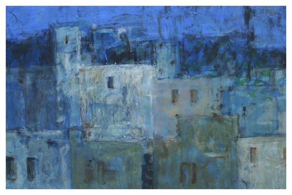 Tidnam, Nick PRBA NEAC (1941 - ) Nightscape Fez - Trent Art