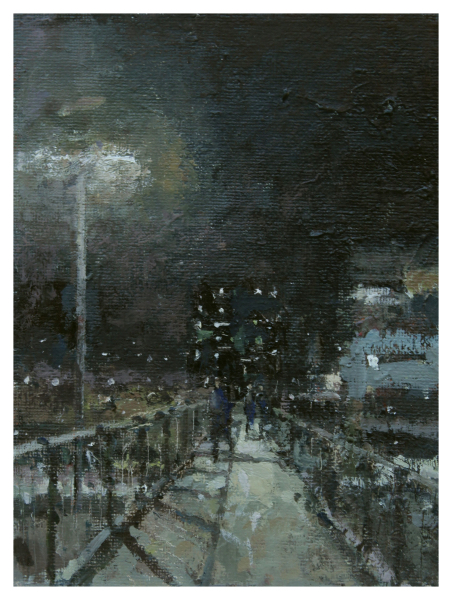 Wells, Robert E RBA NEAC (1956 - ) Walkway - Trent Art