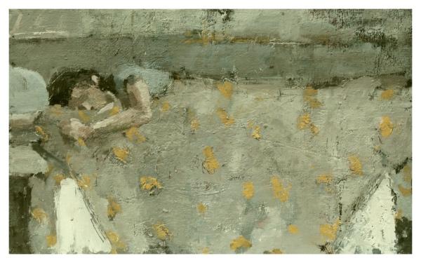 Wells, Robert E RBA NEAC (1956 - ) Sleeping Girl .- Trent Art
