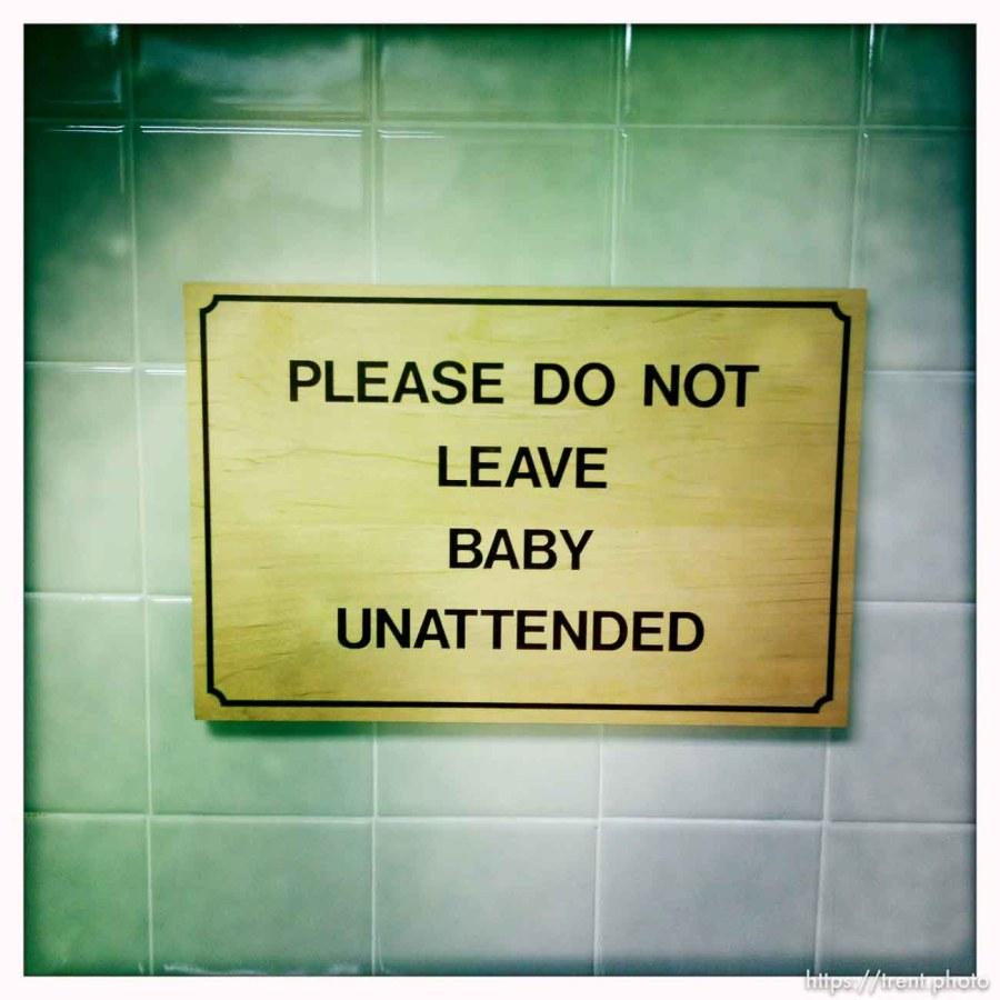 please do not leave baby unattended