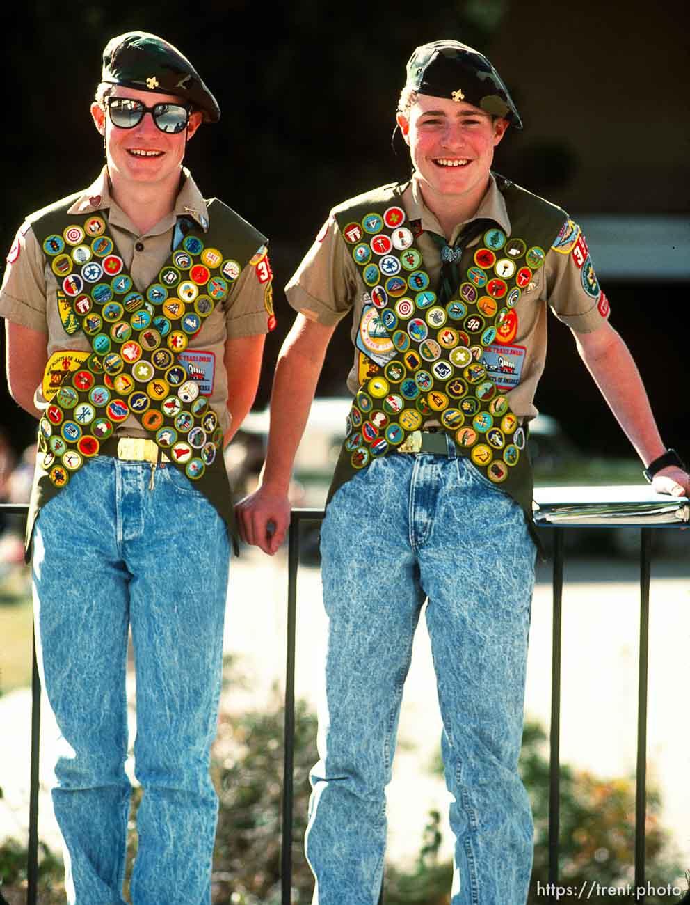 Super scouts, march 1988.
