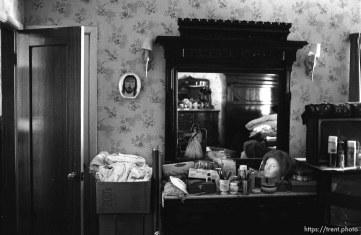 A bedroom at Nana's house.