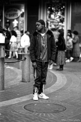 Street guy on Market Street.