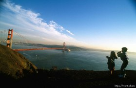 Golden Gate Bridge and San Francisco