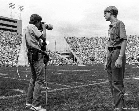 Photographer (G) yelled at by Event Staff during BYU vs. Washington State football.