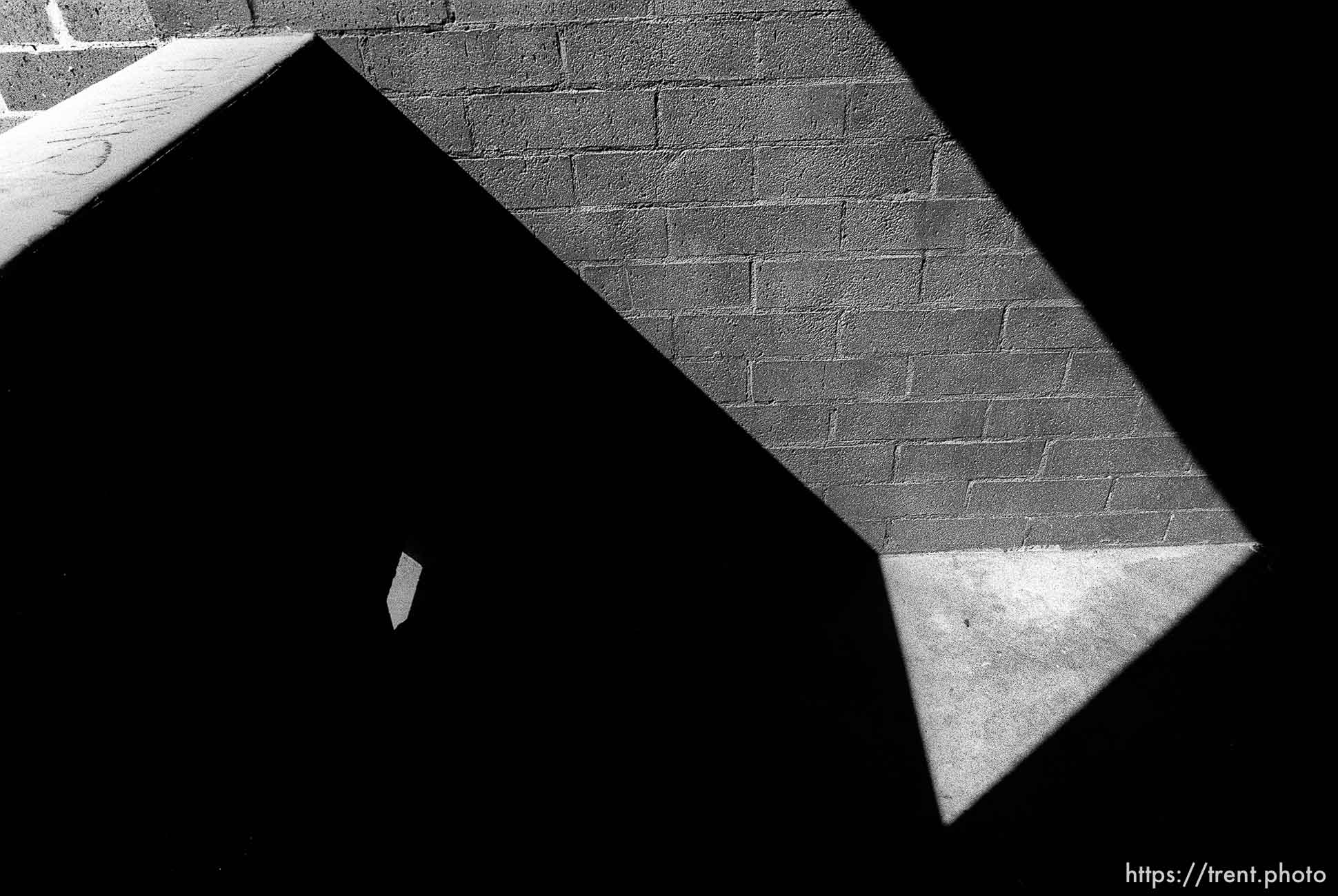 Brick and shadows and light
