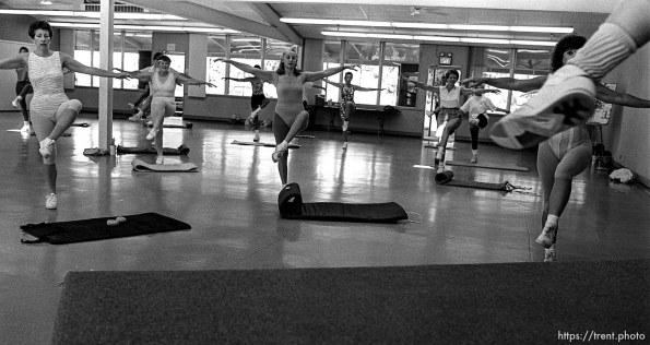 Jazzercise class.
