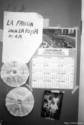 notes and photos posted in Dan Wilcox's room