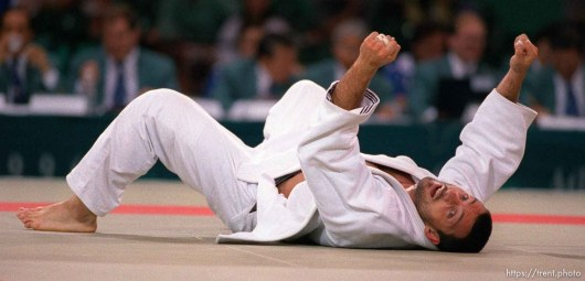 Guy loses in Judo at the 1996 Summer Olympic Games