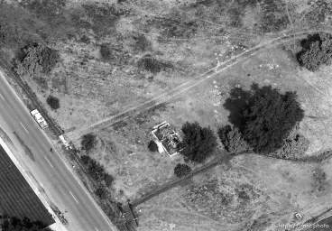 aerial view around American Fork. Notice the guy walking toward the truck.