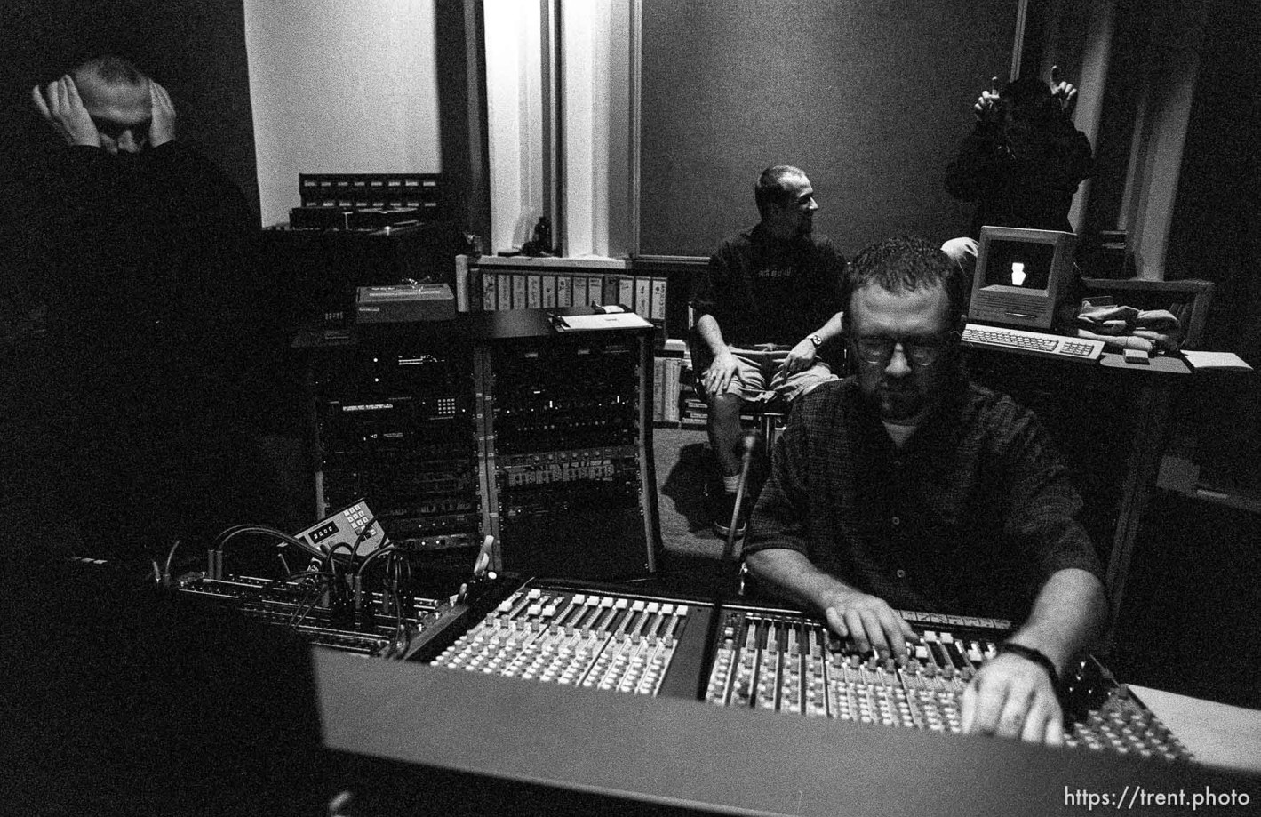 Second Coming in studio